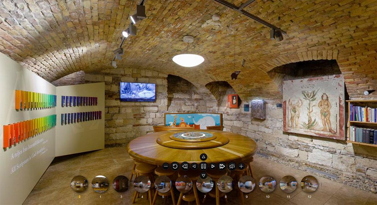 Bibliamúzeum - 3D virtuális kiállítas