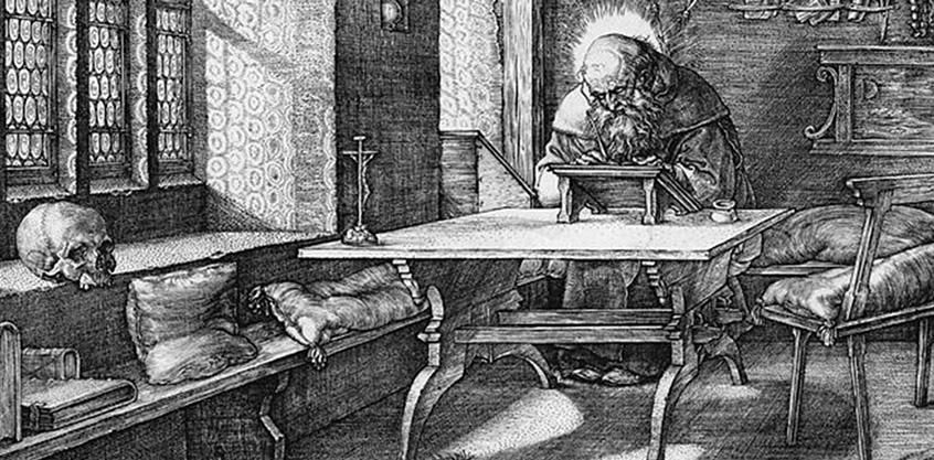 Dürer Szent Jeromos a cellaban 1514