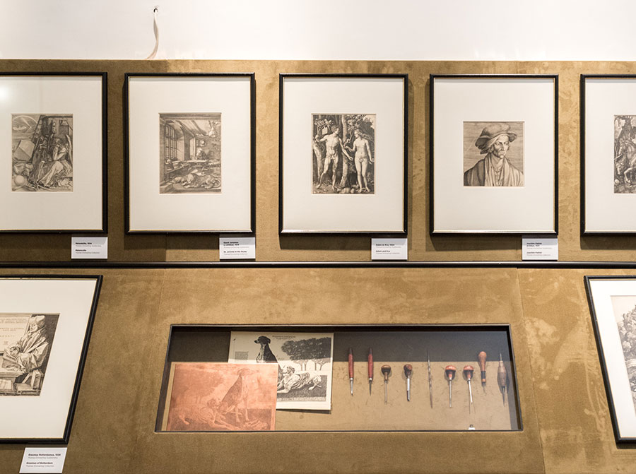 Dürer – Fénybe metszett vonalak